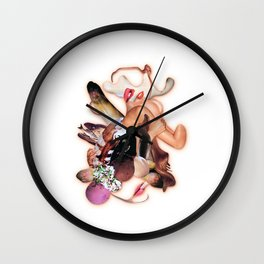 Eat me! Wall Clock