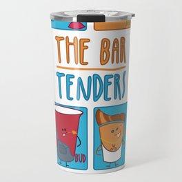 The Bar Tenders Licensing Poster Travel Mug
