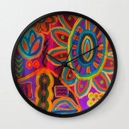 Intuitive Abstract Wall Clock