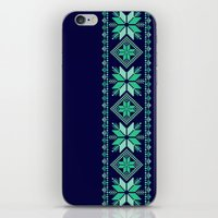 nordic iPhone & iPod Skins featuring NORDIC by Oksana Smith