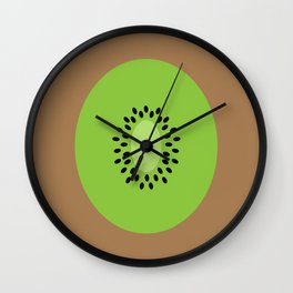 #3 Kiwi Fruit Wall Clock