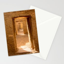 Chaco Ancient Doors Stationery Cards