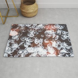 Electric Jelly fish Rug