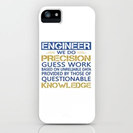 Engineer iPhone Case