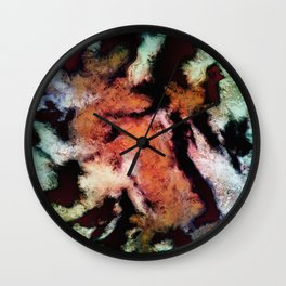 The rejected petals Wall Clock