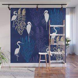 Herons Wall Mural