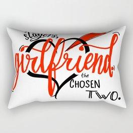 We're Slayers, Girlfriend Rectangular Pillow