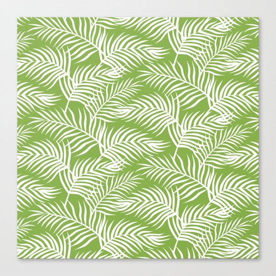 Palm Leaves_Greenery Canvas Print