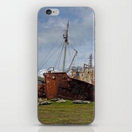 Abandoned Whaling Ships iPhone Skin