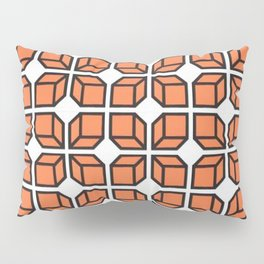 'Retro Geo Design' Pillow Sham