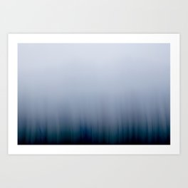 The fog Art Print