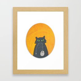 So, what you're gonna do now? Framed Art Print
