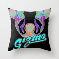gizmo Throw Pillows featuring Gizmo by Gizmo