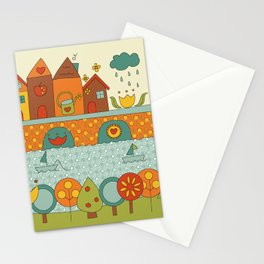 This is my Home Stationery Cards
