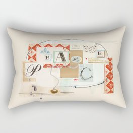 peace Rectangular Pillow