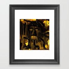 labratory hijinx Framed Art Print