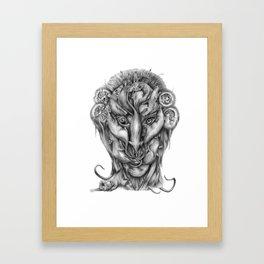 All Hail the Rat King Framed Art Print