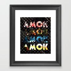Atoms for Peace: AMOK Framed Art Print