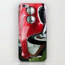 Red Corvette iPhone Skin