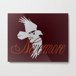 Nevermore: A tribute to Poe Metal Print