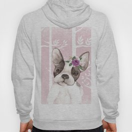 Animals in Forest - The little French Bulldog Hoody