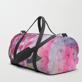 Pretty in Pink Peony Duffle Bag