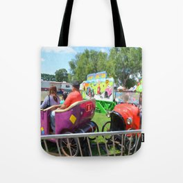 Jalopy Junction Tote Bag