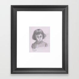 Alice Liddell Framed Art Print