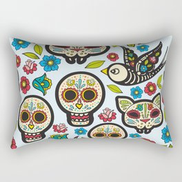 The day of the dead colorful pattern Rectangular Pillow