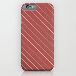 Modern Diagonal Pattern for Interior Design Bedroom and Bathroom iPhone Case