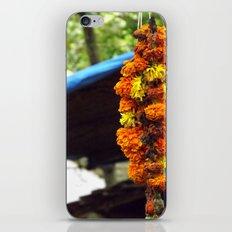Indian Flowers iPhone & iPod Skin