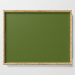Olive Green Serving Tray