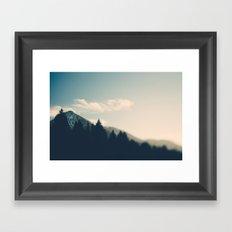 Mountain Majesty Framed Art Print