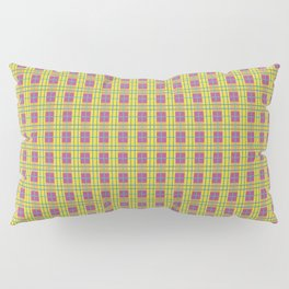 1982 est. New Plaid Five Pillow Sham