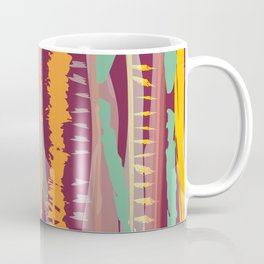 Strokes of colors Coffee Mug
