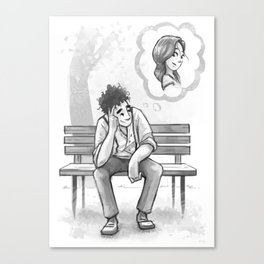 Dreamin' of Her Canvas Print
