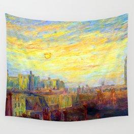 Carrol Brown Studio Window Wall Tapestry