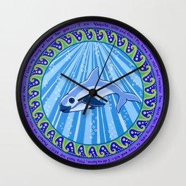 I am Vaquita Wall Clock