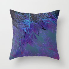 layers of space Throw Pillow