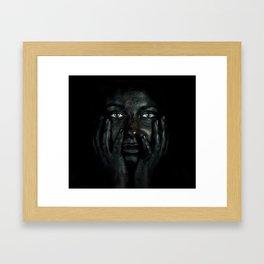Black 03 Framed Art Print