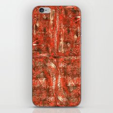 Red Square iPhone & iPod Skin