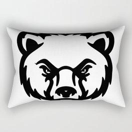 bear head Rectangular Pillow