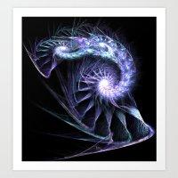 fractal Art Prints featuring Fractal by Elisa Camera