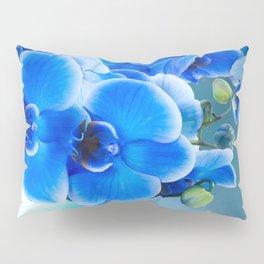 Blue Orchids Pillow Sham