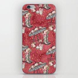 Autumn & Umbrella 6 iPhone Skin