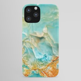 Onyx - blue and orange iPhone Case