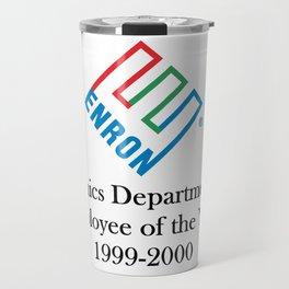 Enron ethics department satire/ parody Travel Mug