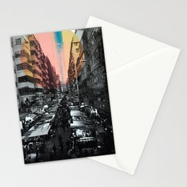 One night in Hong Kong Stationery Cards