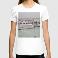 boats T-shirts featuring boats by studiomarshallarts