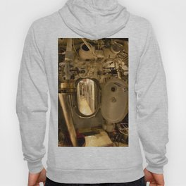 The USS Batfish SS-310 - The Torpedo Room Bulkhead View of the Officers' Quarters Hoody
